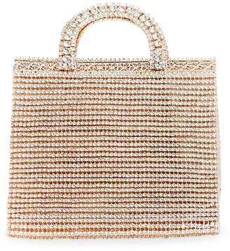 Rosantica Teodora Crystal-Embellished Handbag