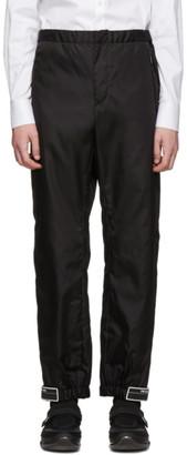Prada Black Nylon Gabardine Trousers