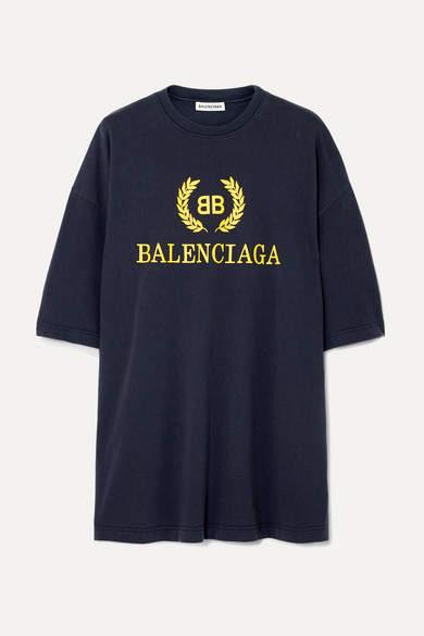 dec27ff5572a Balenciaga Printed T-shirt - ShopStyle