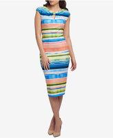 ECI Printed Sheath Dress