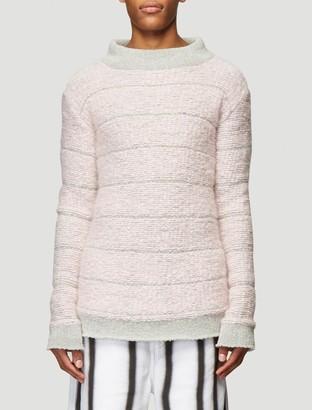 Eckhaus Latta Striped Knitted Sweater
