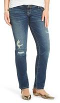 Liz Lange Maternity Inset Under the Belly Straight Leg Jeans - Liz Lange® for Target