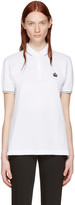 Dolce & Gabbana White Crown Polo