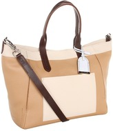 Cole Haan Crosby Small Shopper (Sandstone/White Pine) - Bags and Luggage