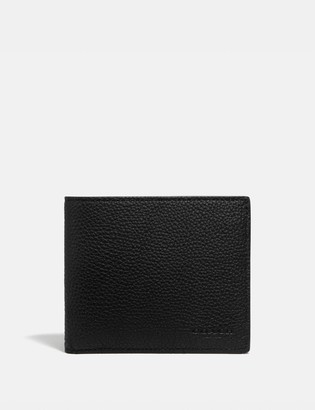 Coach Coin Wallet With Signature Canvas Interior