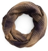 BP Women's Ombre Plaid Infinity Scarf