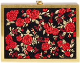 Alice + Olivia Darla Embroidered Box Clutch