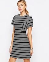 Oasis Stripe Shift Dress