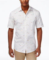Club Room Men's Surf Print Shirt, Only at Macy's