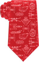 Star Wars Men's Blueprint Tie
