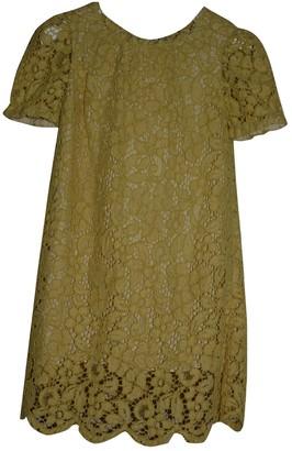 Dolce & Gabbana Yellow Cotton Dresses