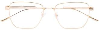 Bottega Veneta Square Frame Optical Glasses
