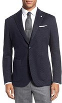 Lubiam Men's L.b.m 1911 Classic Fit Stripe Cotton & Wool Sport Coat