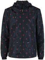 Gucci wasp print windbreaker jacket
