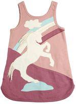 Stella McCartney Stretch Denim Dress W/ Patches