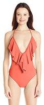 O'Neill Women's Salt Water Solids One-Piece Swimsuit