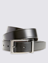 Marks And Spencer Marks And Spencer Coated Leather Score Edge Reversible Belt