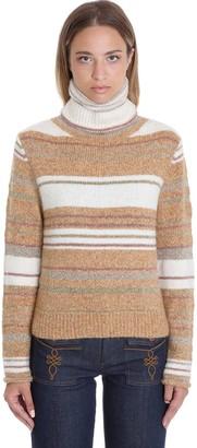 See by Chloe Knitwear In Beige Wool