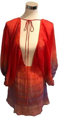 Jens Pirate Booty Multicolour Silk Dress for Women