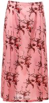 Laura Urbinati Bird Print Skirt