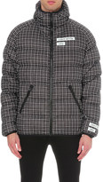 Ueg Grid-print quilted shell jacket