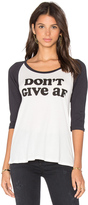 Clayton x REVOLVE Don't Give AF Baseball Tee
