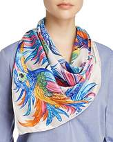 Echo Pajaros Coloridos Silk Square Scarf