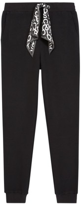 The Kooples Scarf Detail Jogger Pants