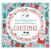 Penguin Random House The Coloring Book of Cards and Envelopes: Christmas Coloring Book