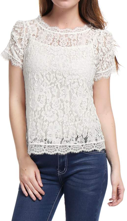 7d284809ef87 White Lace Tube Top - ShopStyle Canada