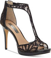 INC International Concepts Sherene T-Strap Evening Sandals, Created for Macy's Women's Shoes