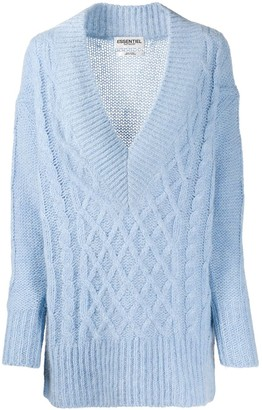Essentiel Antwerp Cable Knit Jumper