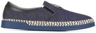 Baldinini Slip-On Denim Sneakers