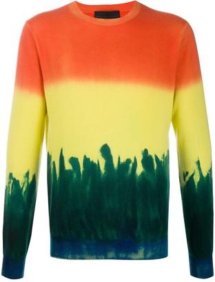 Stella McCartney Colour-Block Dyed Jumper