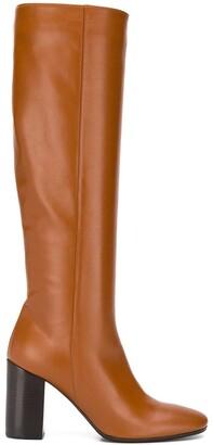 Societe Anonyme Woody block-heel boots