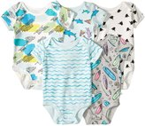 Rosie Pope Baby 5 Pack Graphic Bodysuit - Pizza/Sharks - 0-3 Months