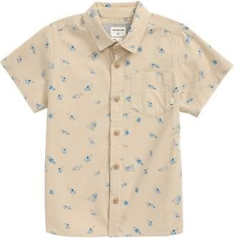 Quiksilver Take a Wave Button-Up Shirt