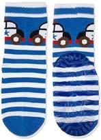 Sterntaler Boy's Fli Sun Polizeiauto Calf Socks,7