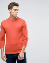 United Colors Of Benetton Viscose Mix Crew Neck Jumper