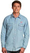 Antigua Men's New England Revolution Chambray Button-Down Shirt