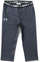 Under Armour Big Girls 7-16 Printed Capri Pants