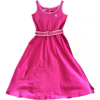 Ted Lapidus Pink Linen Dress for Women