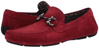 Salvatore Ferragamo Salvatore Parigi 20 Driver Red) Men's Shoes