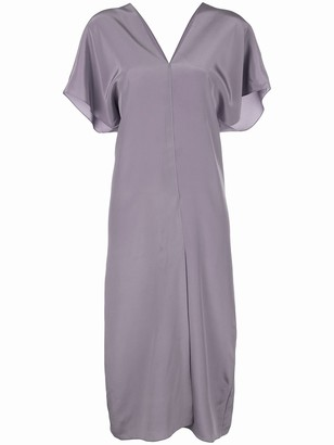 Voz Short-Sleeve Midi Dress
