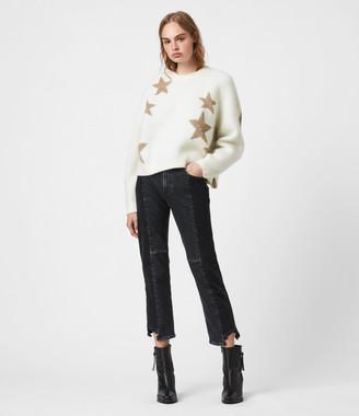AllSaints Star Sweater