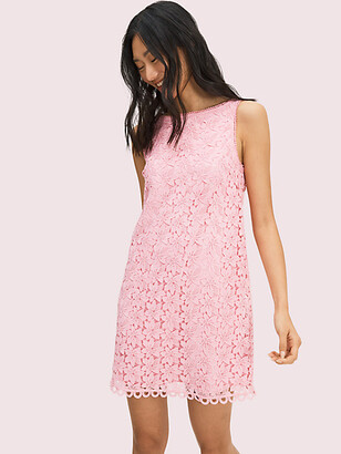 Kate Spade Leaf Lace Shift Dress