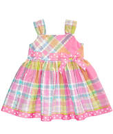 Bonnie Baby Plaid Sundress, Baby Girls
