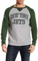 Junk Food Clothing New York Jets Raglan Pullover