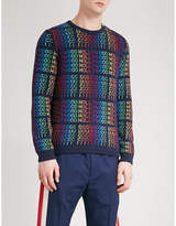 Gucci Hollywood Knitted Wool Jumper
