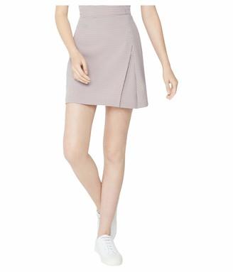 BCBGeneration Women's Front Tie Mini Skirt